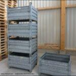 gebrauchte Stapeltransportbehälter mit Klappe 1000x800m, Foto3