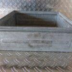 Stapeltransportkasten-Schäferkisten-LxBxH-400x400x130mm-metall-verzinkt-gebraucht-Foto4