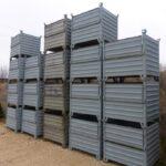 Stapeltransportbehälter, gebraucht LxB: 1000x1000mm, 1. Wahl