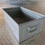 Stapeltransportkasten, Kästen, Schäferkisten, Boxen, Schäfer, metall verzinkt, gebraucht, Foto 1