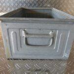Stapeltransportkasten, Kästen, Schäferkisten, Boxen, Schäfer, metall verzinkt, gebraucht, Foto 4