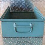 Sichtlagerbehälter aus Stahl, Lager-fix Größe 2H, Foto2