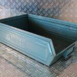 Sichtlagerbehälter aus Stahl, Lager-fix Größe 2H, Foto3