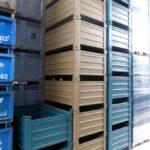 Gebrauchte Stahlboxen-120x80cmx60cm