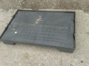 Quadbox, Faltbox, Faltbehälter, Großbox, faltbare Klappbox, Foto6