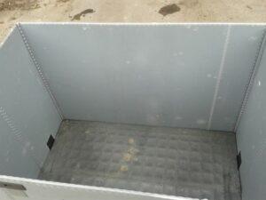 Quadbox, Faltbox, Faltbehälter, Großbox, faltbare Klappbox, Foto4
