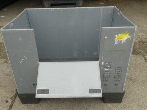 Quadbox, Faltbox, Faltbehälter, Großbox, faltbare Klappbox, Foto3