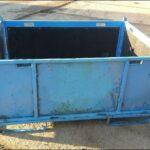 Faltbare-Stahlbehälter-blau-gebraucht-Foto1