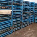Faltbare-Stahlbehälter-blau-gebraucht-Foto3