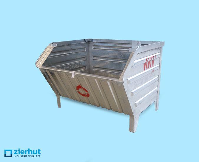 Sichtlagerbehälter Schäfer Lager-Fix 14/7-0a Stahl verzinkt